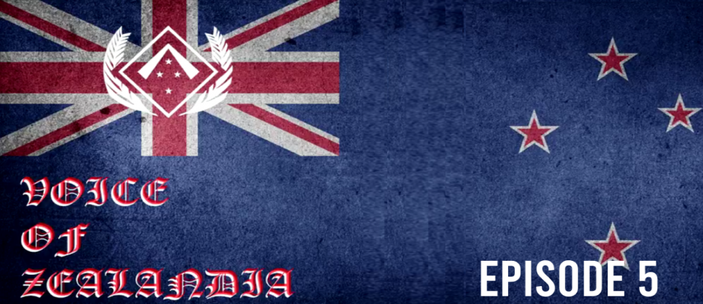 Voice of Zealandia Episode 5 – China, Rot of Society and Tommie Lindh