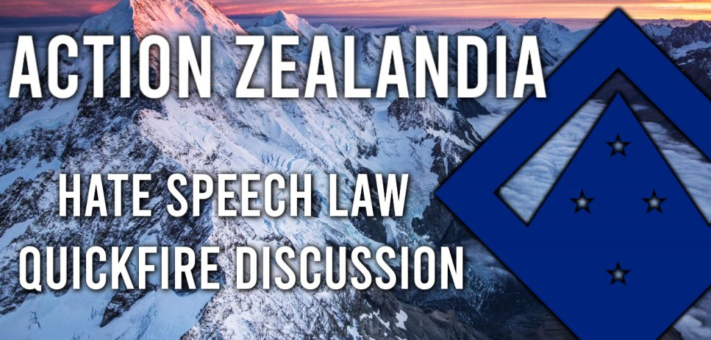 Hate Speech Law Quickfire Discussion