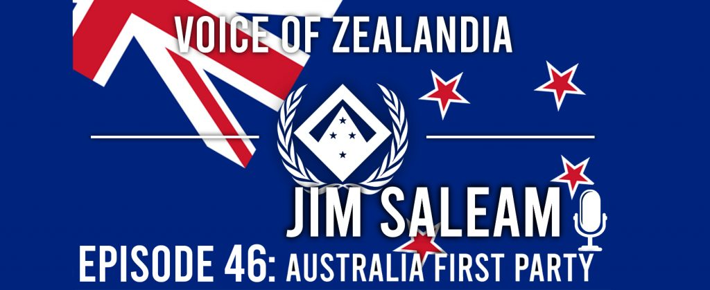 Conversation with Dr. Jim Saleam from Australia First Party | Ep 46